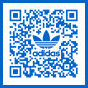 Adidas logo as 2d Barcode